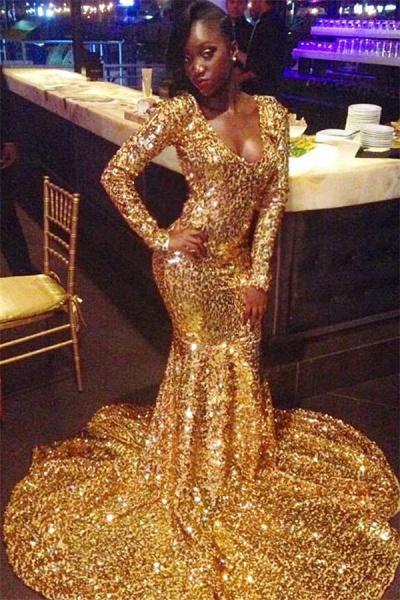 Awesome Scoop Mermaid Prom Dress_1