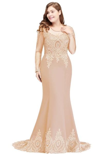 Beautiful Jewel Stretch Satin Mermaid Prom Dress_4