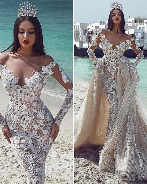 Wonderful V-neck Appliques Ball Gown Prom Dress_2