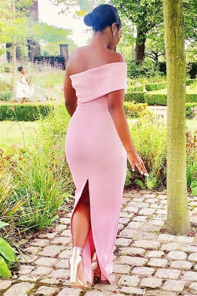 Beautiful Off-the-shoulder Mermaid Prom Dress_3