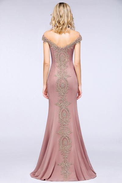 Elegant Bateau Healthy Mermaid Evening Dress_27