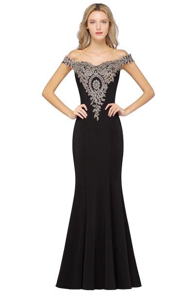 Elegant Bateau Healthy Mermaid Evening Dress_7