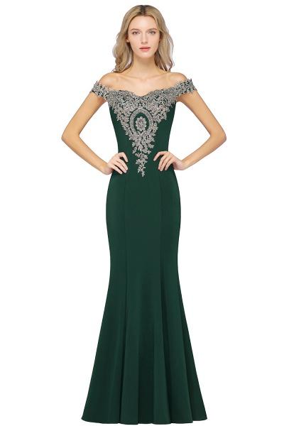 Elegant Bateau Healthy Mermaid Evening Dress_8