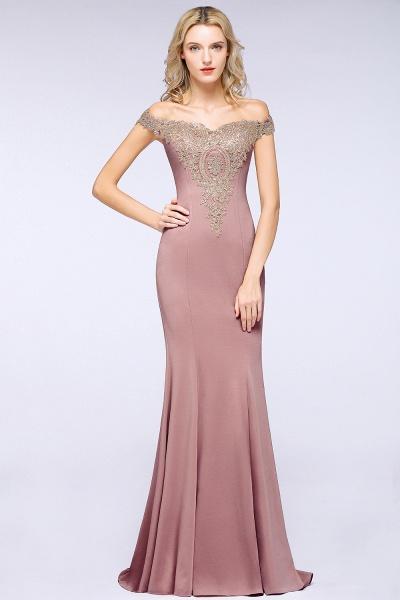 Elegant Bateau Healthy Mermaid Evening Dress_20