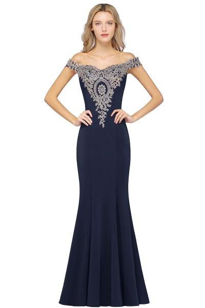 Elegant Bateau Healthy Mermaid Evening Dress_6