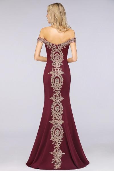 Elegant Bateau Healthy Mermaid Evening Dress_38