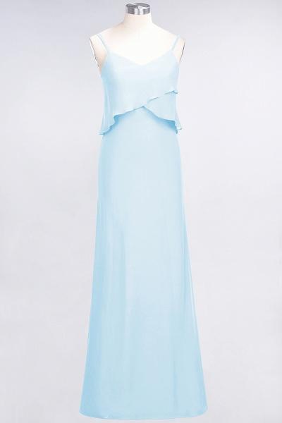 A-Line Chiffon Spaghetti-Straps V-Neck Sleeveless Floor-Length Bridesmaid Dress_22