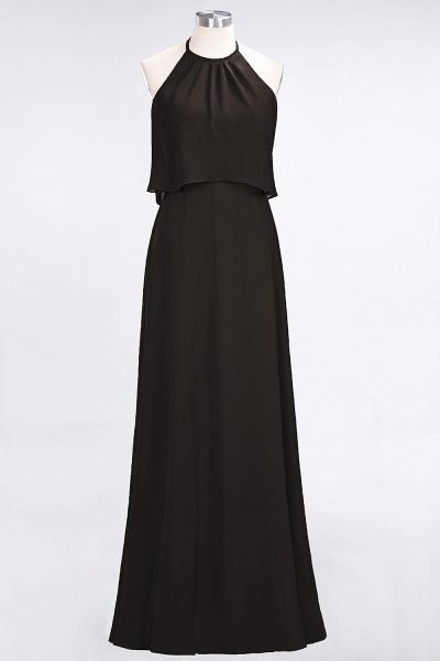A-Line Chiffon Jewel Sleeveless Floor-Length Bridesmaid Dress_11