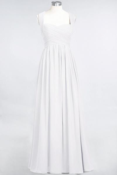 BM0420 Burgundy Simple Cap Sleeves Sweetheart Bridesmaid Dress_1