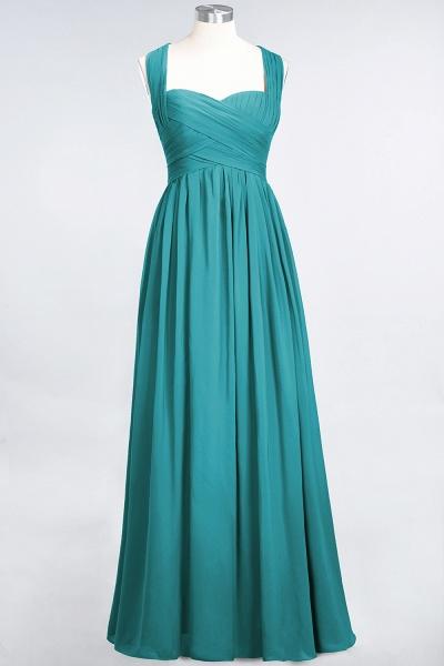 BM0420 Burgundy Simple Cap Sleeves Sweetheart Bridesmaid Dress_31
