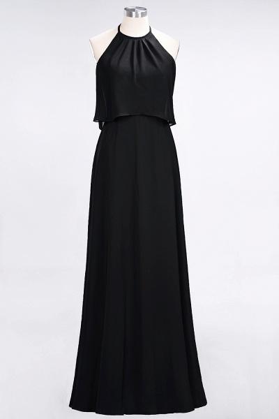 A-Line Chiffon Jewel Sleeveless Floor-Length Bridesmaid Dress_28