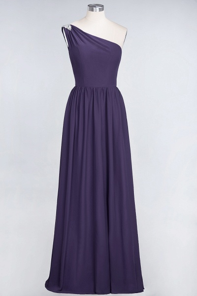 A-Line Chiffon One-Shoulder Sleeveless Ruffles Floor-Length Bridesmaid Dress with Beadings_18