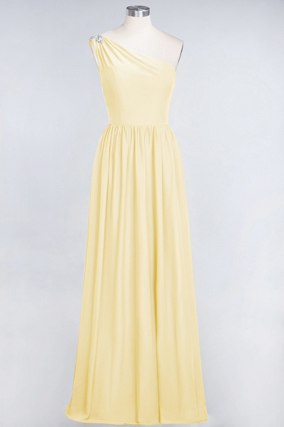 A-Line Chiffon One-Shoulder Sleeveless Ruffles Floor-Length Bridesmaid Dress with Beadings_17