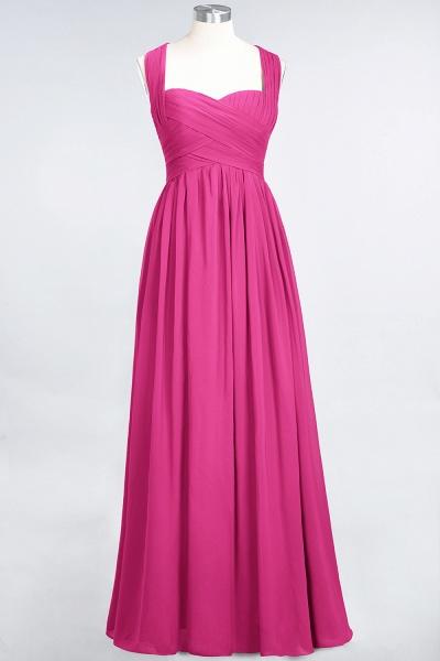 BM0420 Burgundy Simple Cap Sleeves Sweetheart Bridesmaid Dress_9