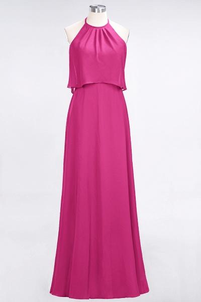 A-Line Chiffon Jewel Sleeveless Floor-Length Bridesmaid Dress_9