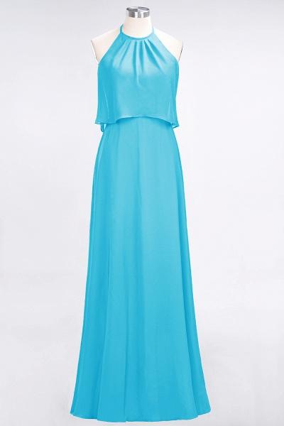 A-Line Chiffon Jewel Sleeveless Floor-Length Bridesmaid Dress_23