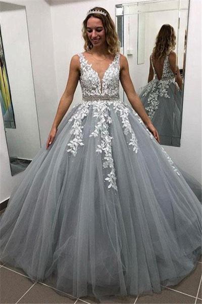 Fabulous Spaghetti Straps Tulle A-line Prom Dress_1