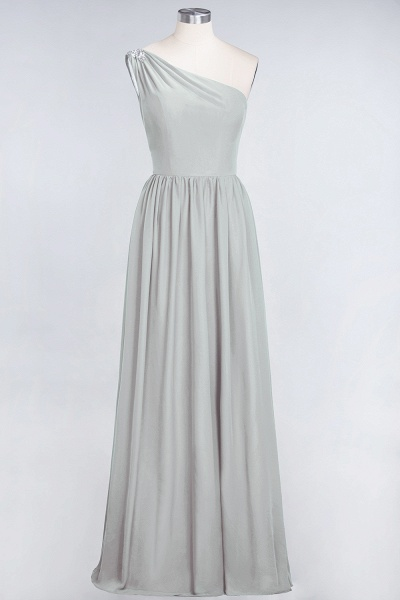 A-Line Chiffon One-Shoulder Sleeveless Ruffles Floor-Length Bridesmaid Dress with Beadings_29