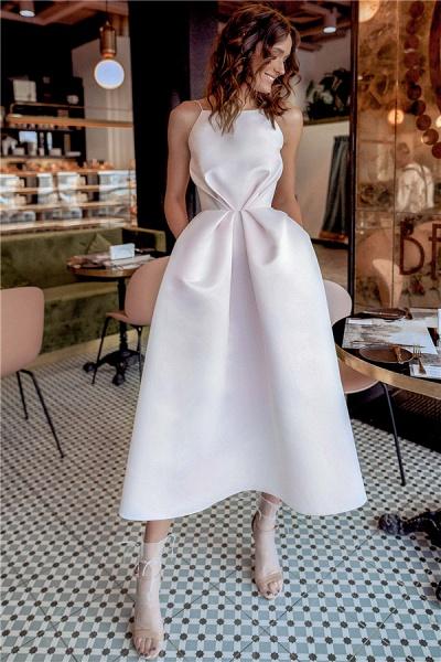 Fascinating Spaghetti Straps A-line Prom Dress_3
