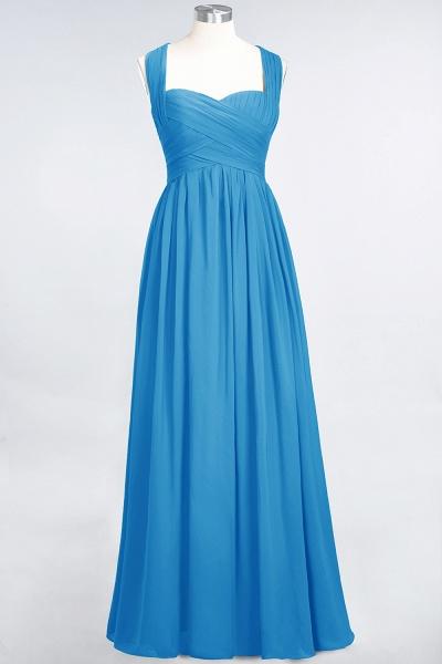 BM0420 Burgundy Simple Cap Sleeves Sweetheart Bridesmaid Dress_24