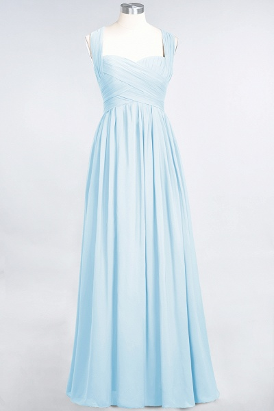 BM0420 Burgundy Simple Cap Sleeves Sweetheart Bridesmaid Dress_22