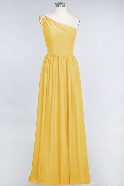 A-Line Chiffon One-Shoulder Sleeveless Ruffles Floor-Length Bridesmaid Dress with Beadings_16