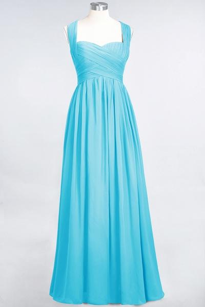 BM0420 Burgundy Simple Cap Sleeves Sweetheart Bridesmaid Dress_23