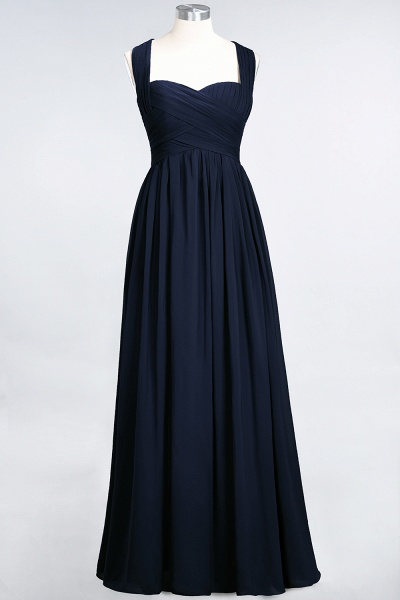 BM0420 Burgundy Simple Cap Sleeves Sweetheart Bridesmaid Dress_27