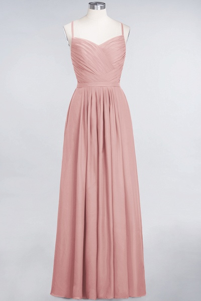 A-Line Chiffon Spaghetti-Straps Sweetheart Sleeveless Floor-Length Bridesmaid Dress with Ruffles_6