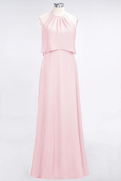 A-Line Chiffon Jewel Sleeveless Floor-Length Bridesmaid Dress_3