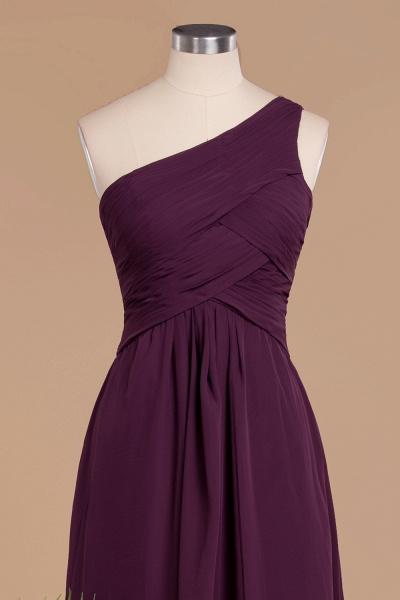 BM0756 Elegant Ruffles One Shoulder Long Bridesmaid Dress_4