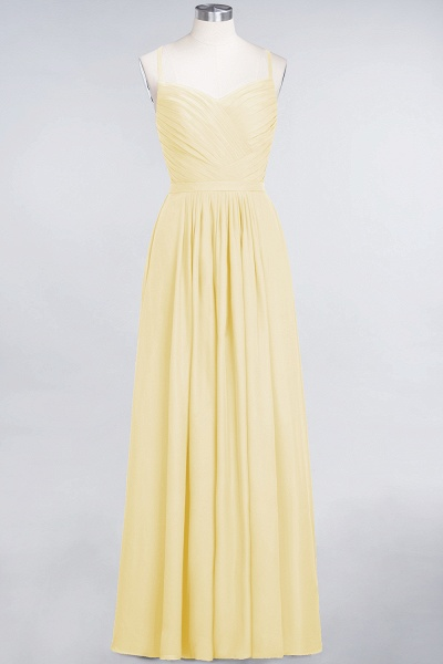 A-Line Chiffon Spaghetti-Straps Sweetheart Sleeveless Floor-Length Bridesmaid Dress with Ruffles_17