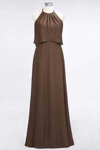A-Line Chiffon Jewel Sleeveless Floor-Length Bridesmaid Dress_12