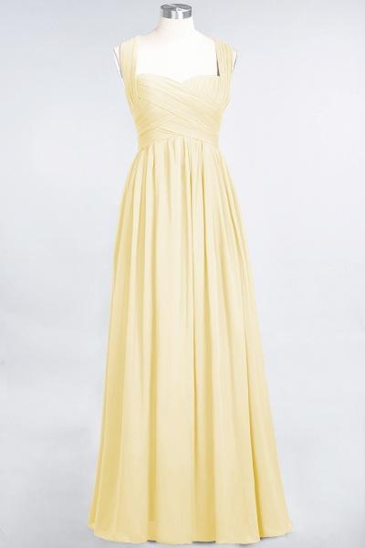 BM0420 Burgundy Simple Cap Sleeves Sweetheart Bridesmaid Dress_17