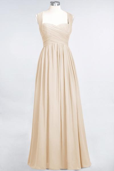 BM0420 Burgundy Simple Cap Sleeves Sweetheart Bridesmaid Dress_14