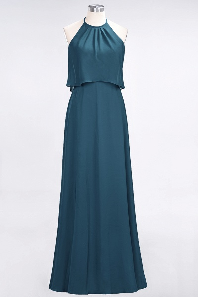 A-Line Chiffon Jewel Sleeveless Floor-Length Bridesmaid Dress_26