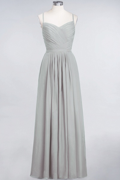 A-Line Chiffon Spaghetti-Straps Sweetheart Sleeveless Floor-Length Bridesmaid Dress with Ruffles_29