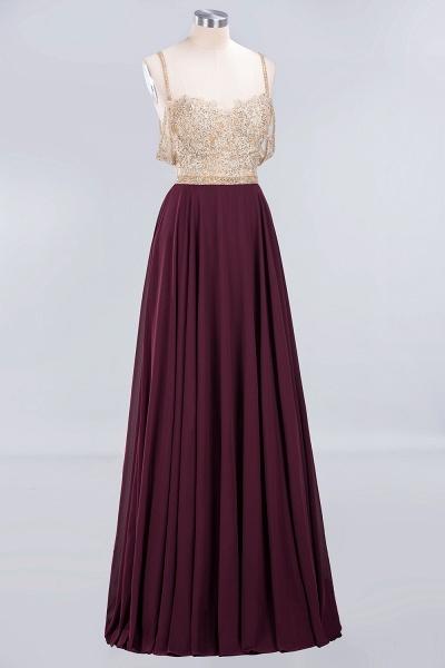 BM0761 Appliques Spaghetti Straps A-line Bridesmaid Dress_8