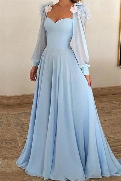 Precious Sweetheart Appliques A-line Prom Dress_1