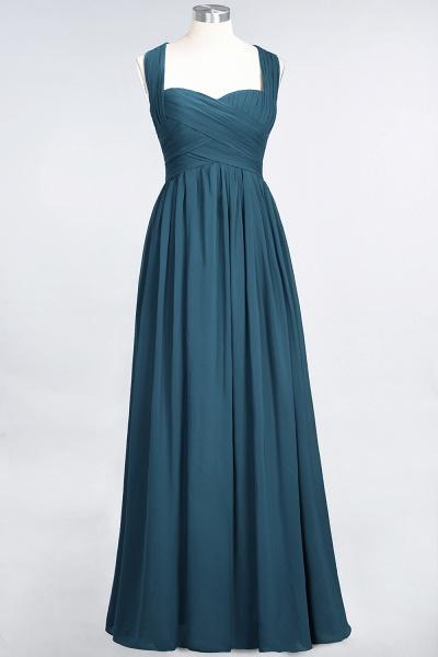 BM0420 Burgundy Simple Cap Sleeves Sweetheart Bridesmaid Dress_26