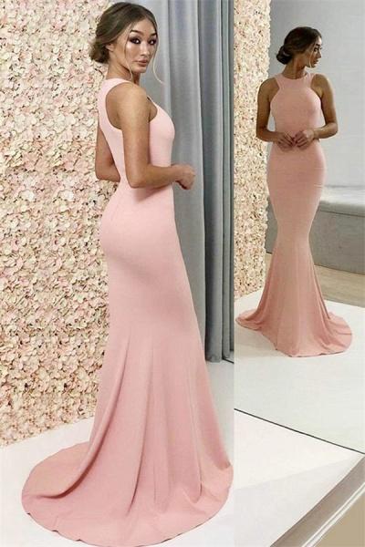 Marvelous Jewel Mermaid Prom Dress_1