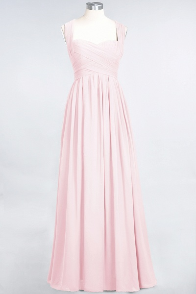 BM0420 Burgundy Simple Cap Sleeves Sweetheart Bridesmaid Dress_3
