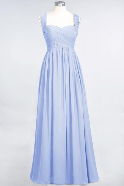 BM0420 Burgundy Simple Cap Sleeves Sweetheart Bridesmaid Dress_21