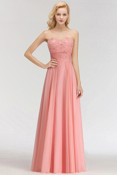 BM0083 Sexy Sweetheart A-Line Appliques Long Bridesmaid Dress_3