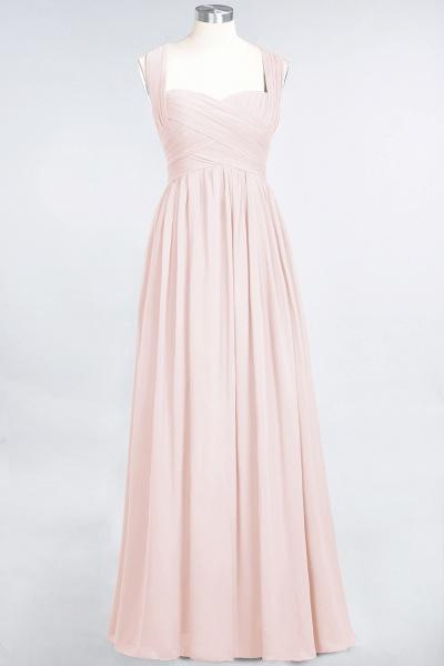 BM0420 Burgundy Simple Cap Sleeves Sweetheart Bridesmaid Dress_5