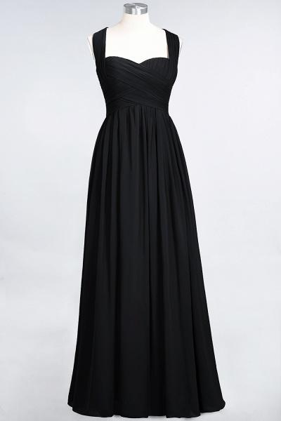 BM0420 Burgundy Simple Cap Sleeves Sweetheart Bridesmaid Dress_28