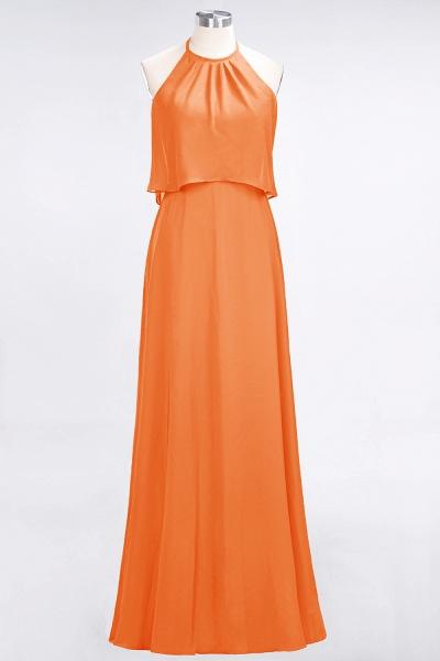 A-Line Chiffon Jewel Sleeveless Floor-Length Bridesmaid Dress_15
