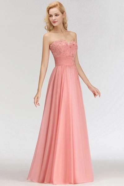 BM0083 Sexy Sweetheart A-Line Appliques Long Bridesmaid Dress_4