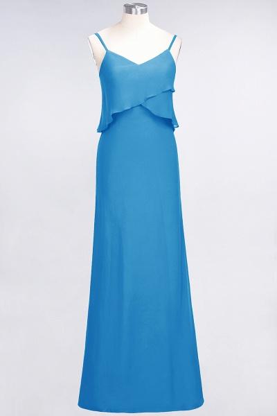 A-Line Chiffon Spaghetti-Straps V-Neck Sleeveless Floor-Length Bridesmaid Dress_24
