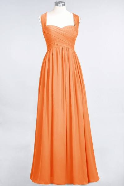 BM0420 Burgundy Simple Cap Sleeves Sweetheart Bridesmaid Dress_15
